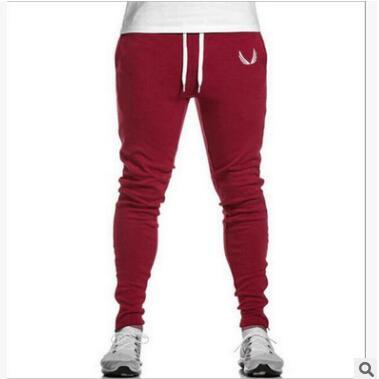 Mens basketball football sport Slim pants high quality running fitness pants for male men Gym Jogging Training Leggings Pants
