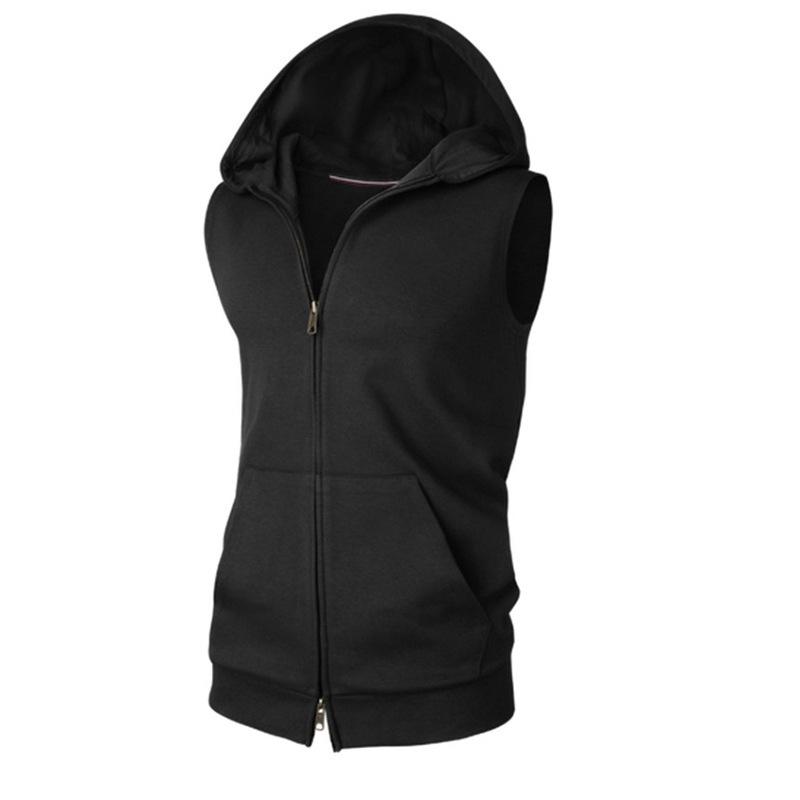Kolsuz Erkek Hoodie Giyim Ceket Moda Tasarımcısı Yelek Ucuz Hırka Spor Sweatershirt Giyim Toptan M-XXL Tops