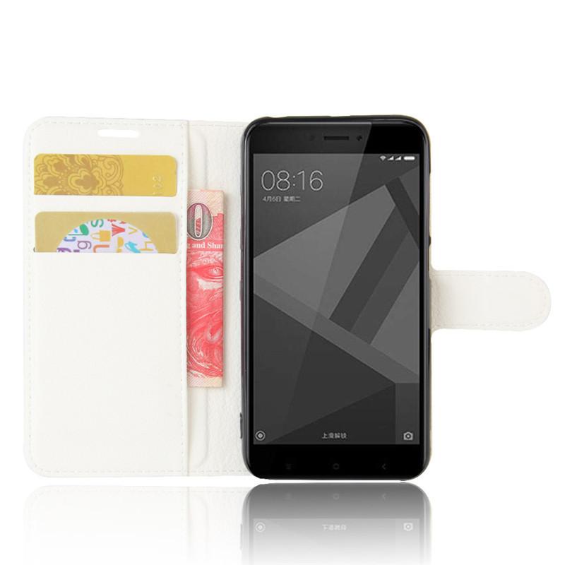 For Xiomi Xiaomi Redmi 4X Case 5.0 inch Wallet PU Leather Cover Phone Case For Xiaomi Redmi 4X 4 X Case Silicone Flip Back Bag (4)