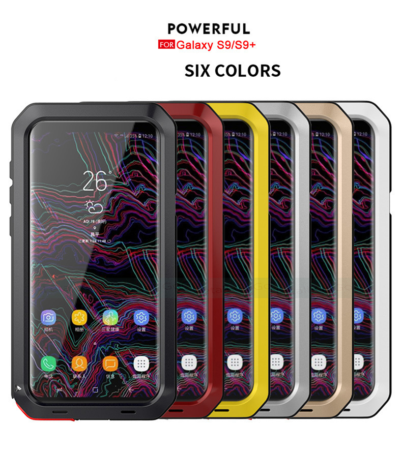 Samsung Galaxy S8 S9 Plus Note 8 9 shockproof phone cover case 14