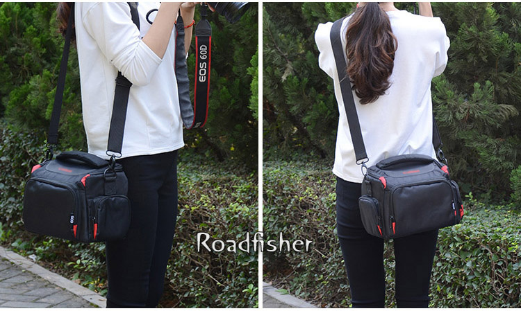 Camera shoulder bag for Canon EOS-1