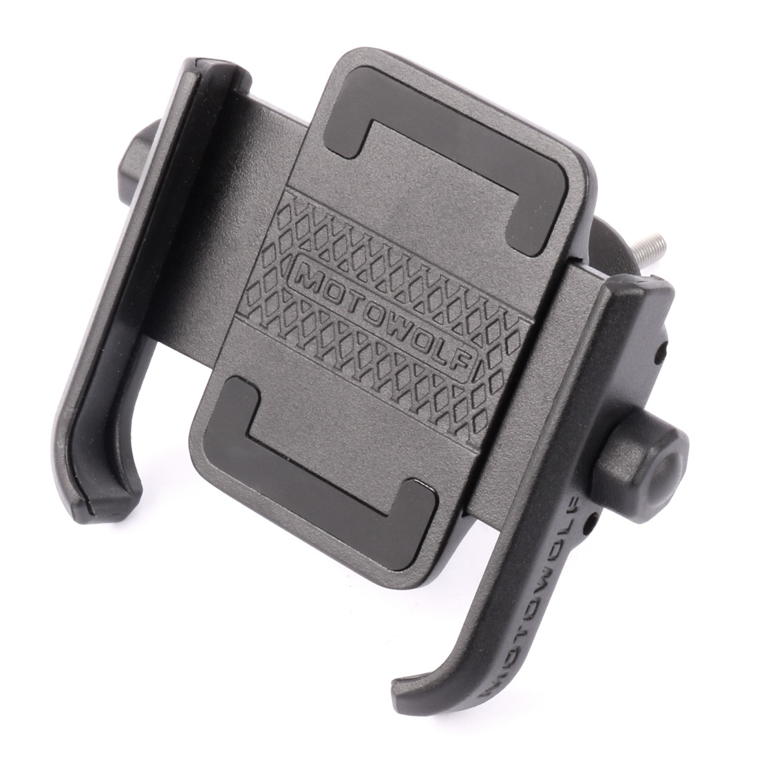 """Bicycle Screw Fixed Phone Holder Mount 360 Horizontal Rotation Aluminum Alloy Bike Cilp for 4""""-6.6"""" Cellphone iPhone Samsung C18110801"""