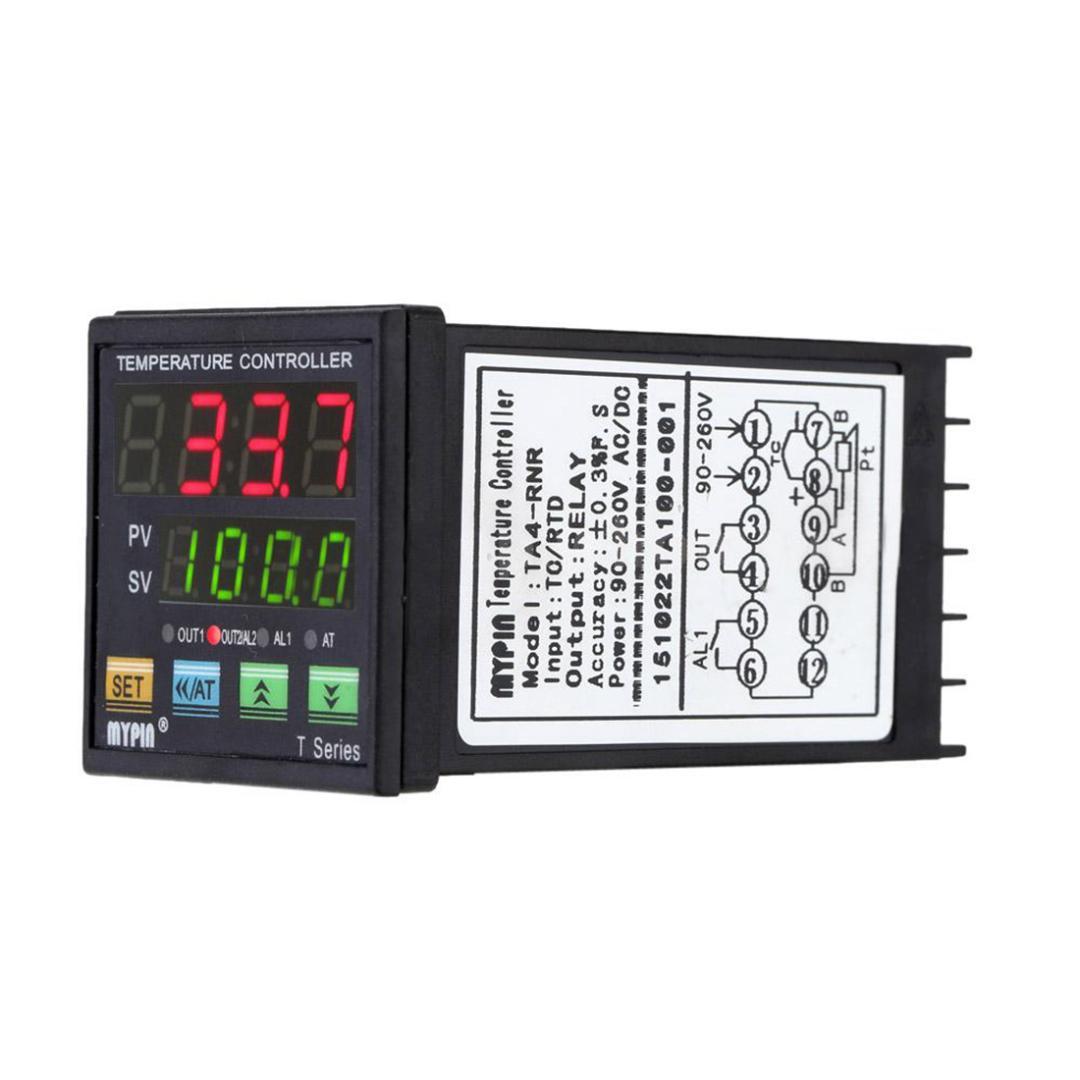 12-24V Digital PID Temperature Controller Thermostat 25DA SSR PT100 Sensor RoHS