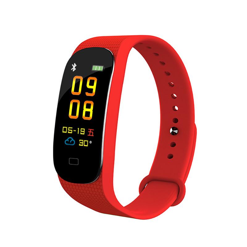 M5 Smart Bracelet Watch Blood Pressure Heart Rate Monitor Call Message Reminder Smart Wristwatch IP67 Sports Fitness Watch for Men Women
