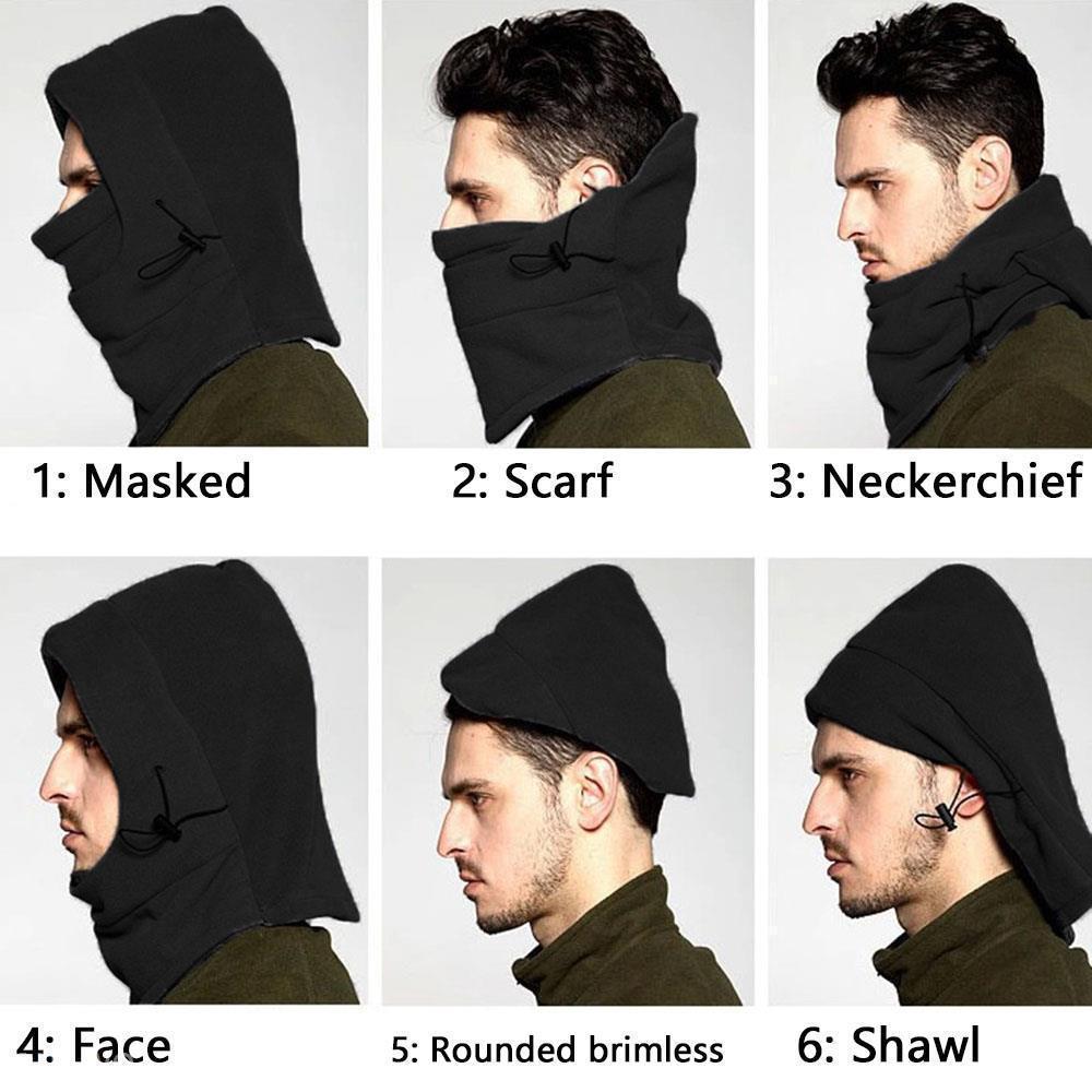 11 estilos Unisex Quente Cap Balaclava Cap Ao Ar Livre de Esqui de Inverno Máscara Facial À Prova de Vento chapéu de bicicleta ciclismo caps Gorros FFA955