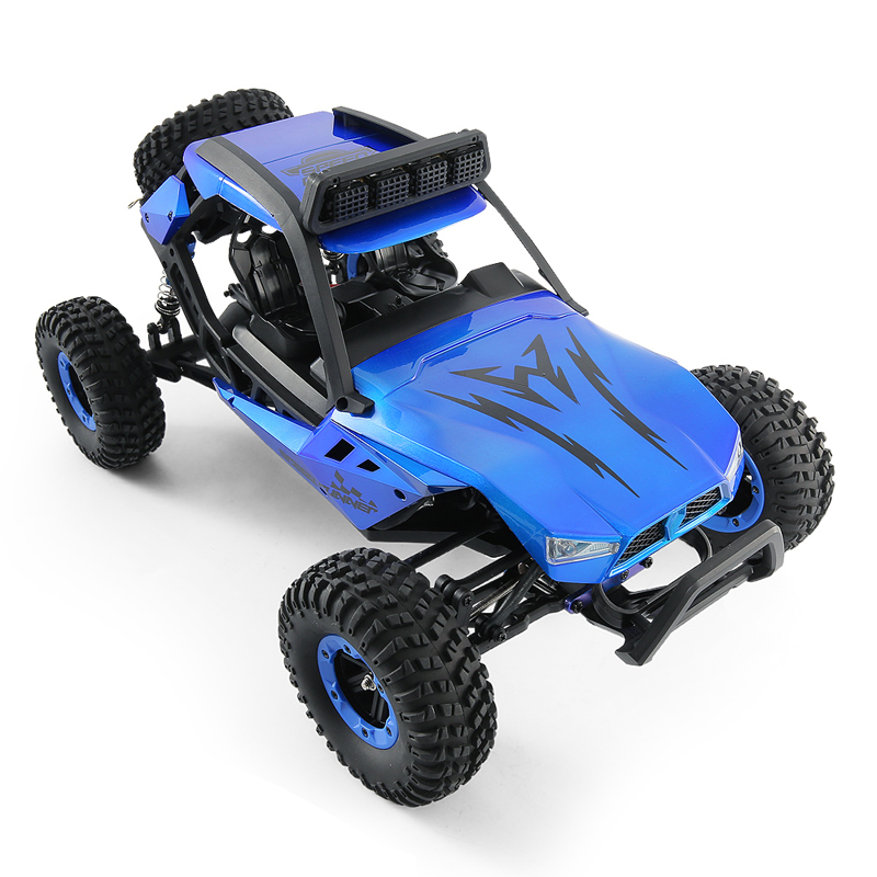 In Stock JJRC Q46 1/12 2.4G 4CH High Speed Off Road Buggy Crawler 45km/H RC Car Blue Red 4 Wheel Drive Drift RC Racing Car