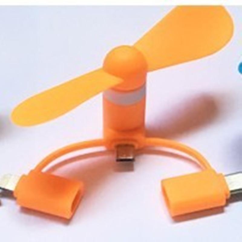 Ventilateur mobile Trois téléphone USB Mini ventilateur cool Portable Creative petit appareil Mini ventilateur de poche Summer Cooler confortable électronique jouets