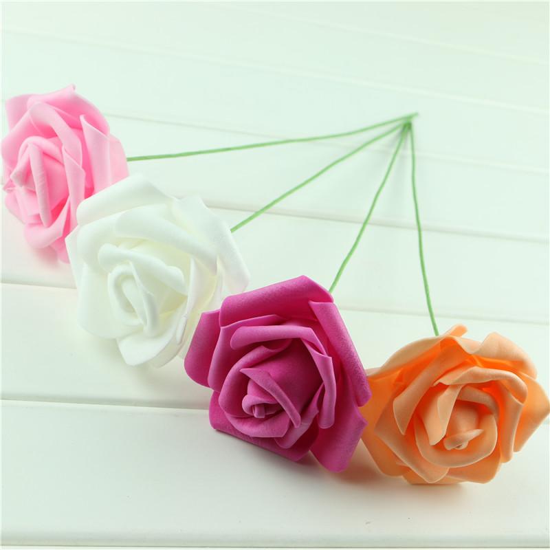 Handmade-Party-Festival-Wedding-Foam-Roses-Flower-with-Stem-DIY-Wedding-Bouquet-Flowers-Home-Floral-Decor (2)