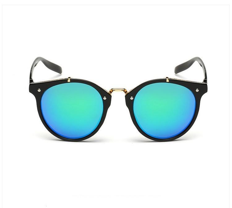 2016 Classic Brand Designer Sunglasses Women Men Retro Round Sun Glasses Woman shades Mirror Eyewear Lady Male Female Sunglass (33)