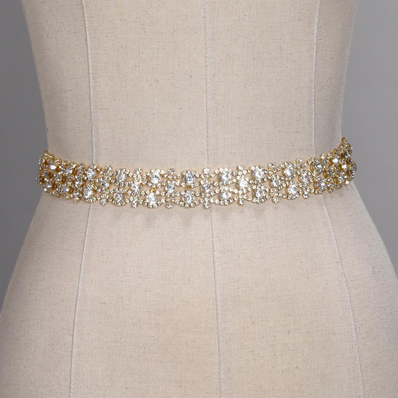 Cintur/ón nupcial de color marfil claro Cintur/ón nupcial de boda Cinturones con apliques de cristal Cintur/ón de vestir para dama de honor