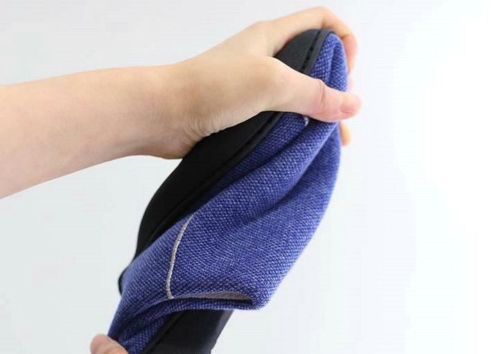 High Quality Velvet With Soft Fleece Outside Comfortable Soft Sole Men Memory Foam Home Slipper Men Shoes (11)