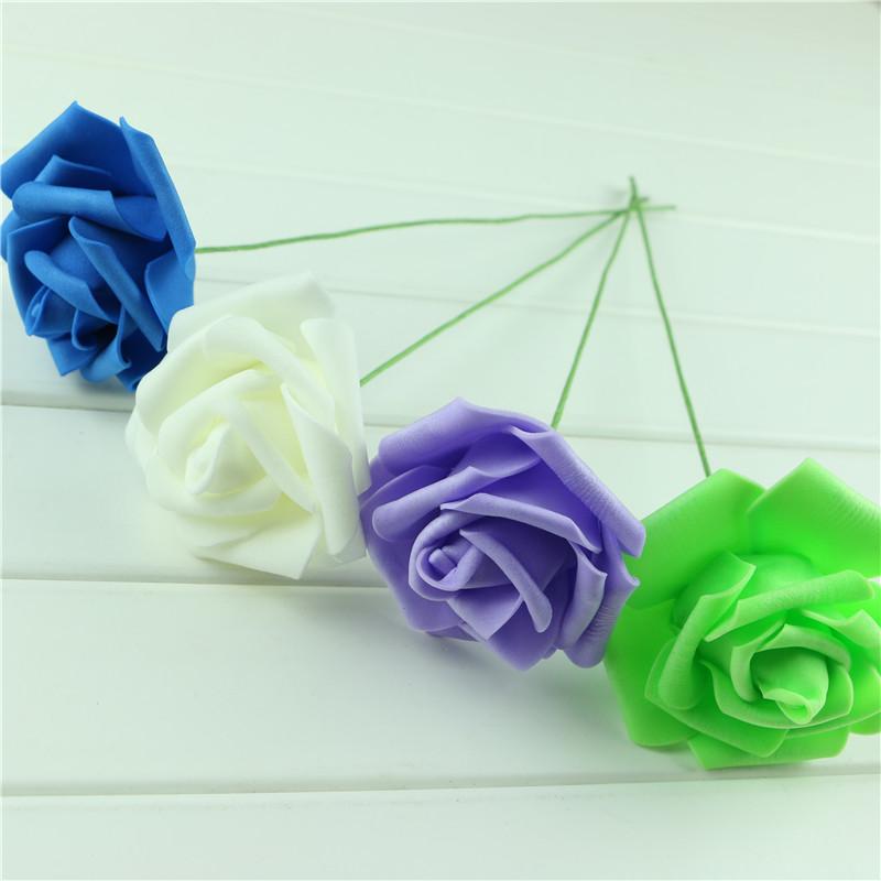 Handmade-Party-Festival-Wedding-Foam-Roses-Flower-with-Stem-DIY-Wedding-Bouquet-Flowers-Home-Floral-Decor (4)