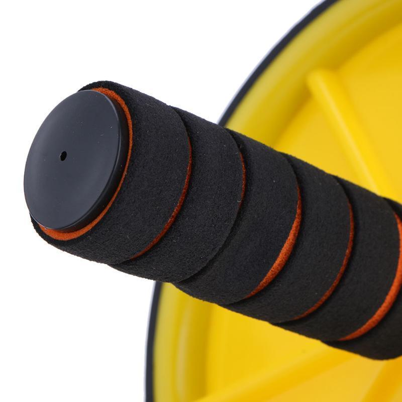 Двухколесный обновленный Ab брюшной пресс колеса ролики Crossfit тренажеры для бодибилдинга Фитнес для домашнего тренажерного зала Y1892612
