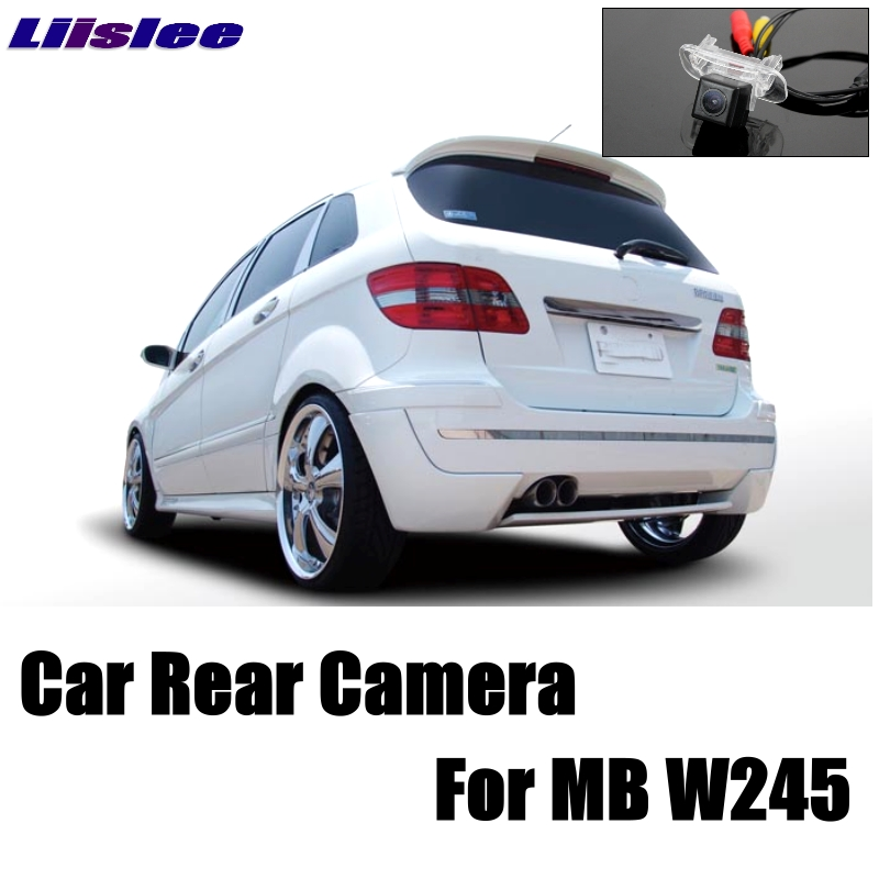 LiisLee Car Camera For Mercedes Benz B Class MB W245 B200 B180 B170 160 Rear View Back Up Camera For Friends CCD + RCA