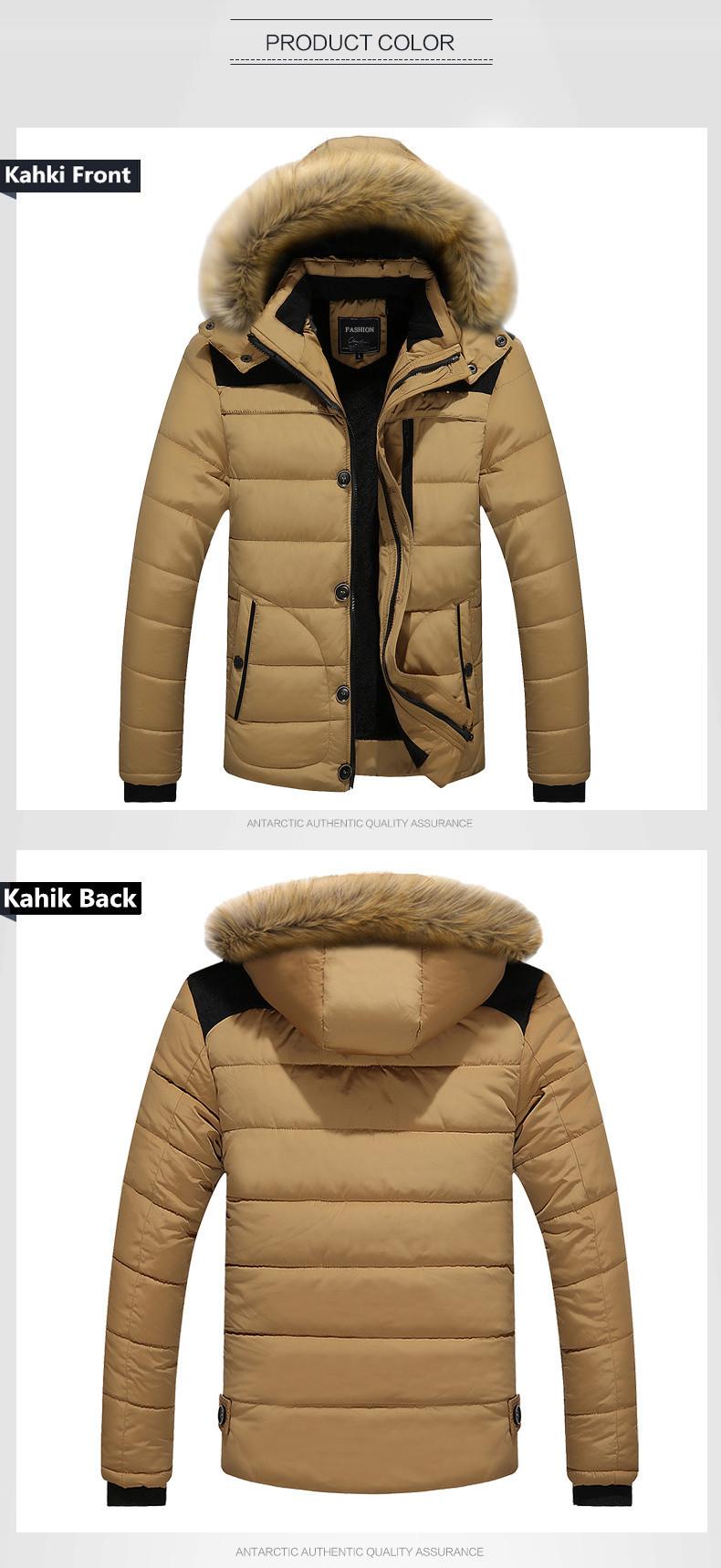 W102 2016 Mens Winter Jackets Coats Outwear Warm Down Jacket Thick Outdoor Hoodie Fox Fur Men\`s Parka Plus Size 4XL Famous Brand (8)