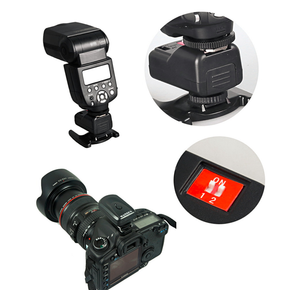 New-Arrival-PT-04-GY-4-Channels-Wireless-Radio-Flash-Trigger-SET-with-3-Receivers-Hot