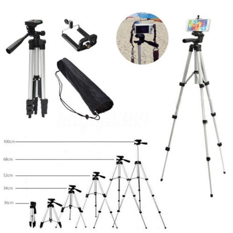 Tripods camera stand cam smartphone mobile phone holder monopod tripe extension stick tripod for camera standaard (3)