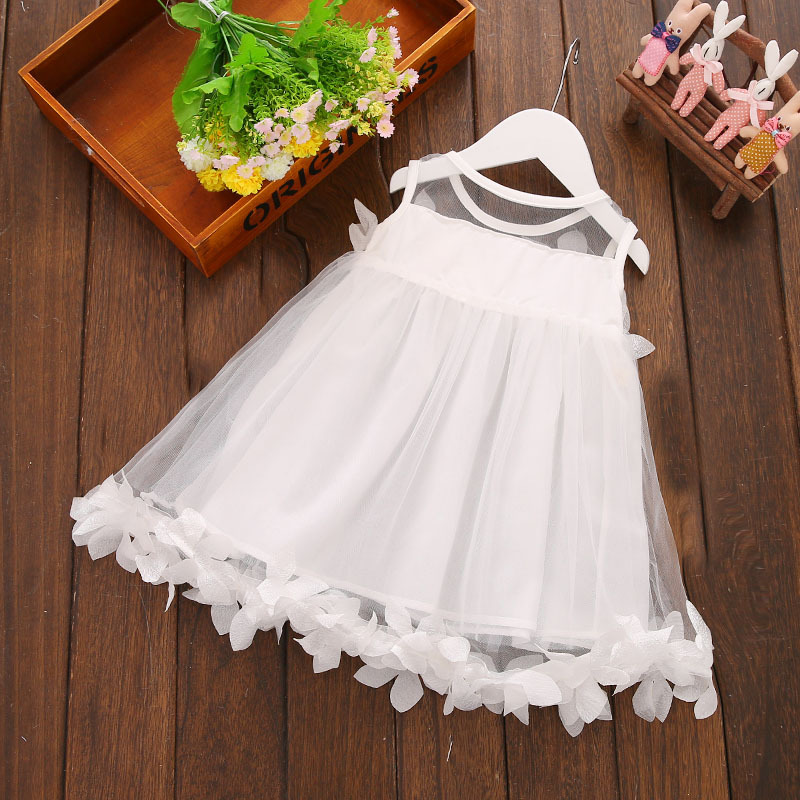 Children Girls Summer Dresses Newborn Infant Baby Kids Girls Princess Dress Party Gown Casual Dresses 0-3Y Hot