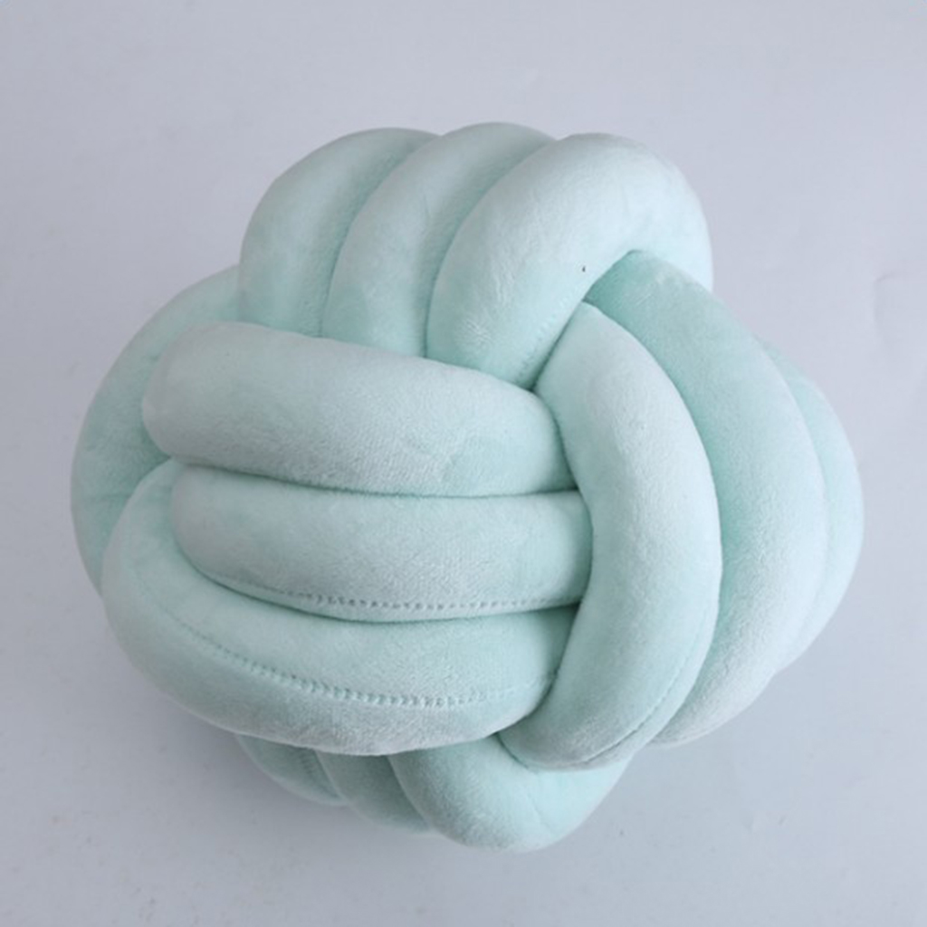 fityle Unique Fleece Throw Pillow Ball, Chinese Decor Sofa Bed Doll Cushion Bolster