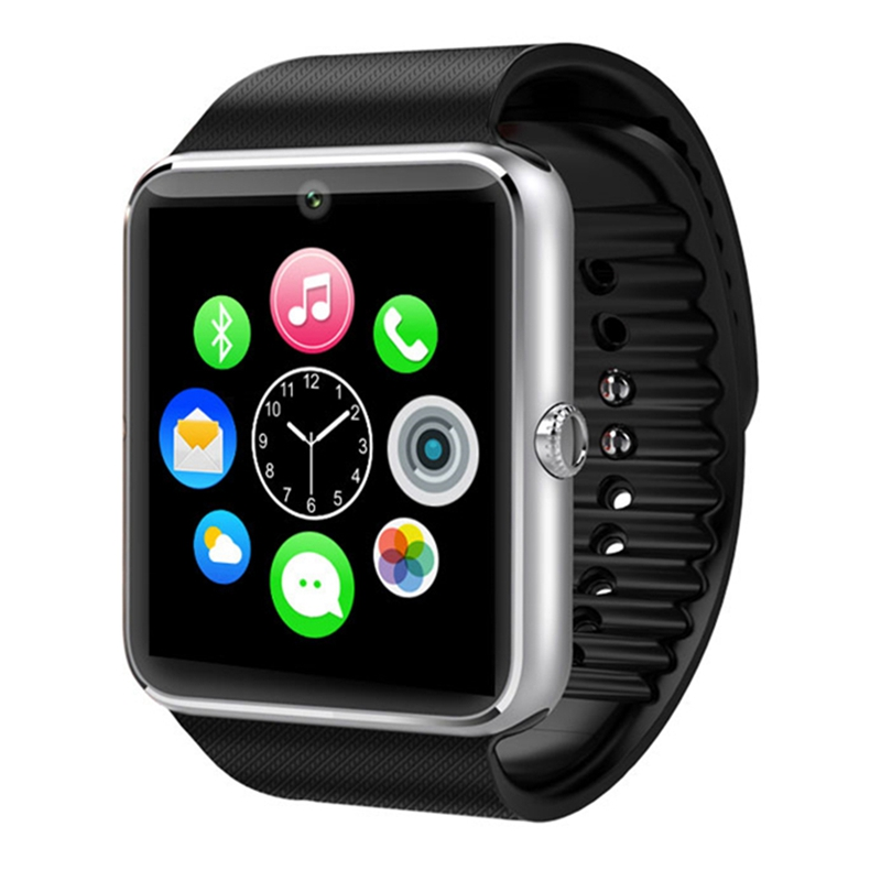 Bluetooth Smart Watch Men GT08 With Touch Screen Big Battery Sim Card Camera For iPhone Android