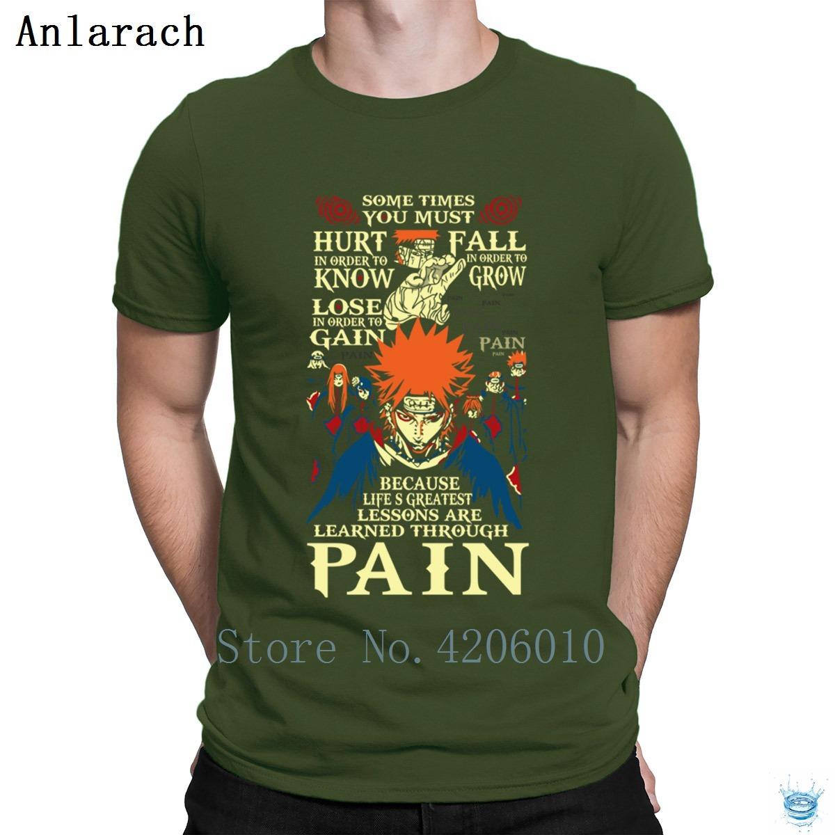 Naruto Akatsuki Pain Tshirts Great Printing Better Short Sleeve T Shirt For Men Sunlight Tee Tops Cheap Sale Vintage