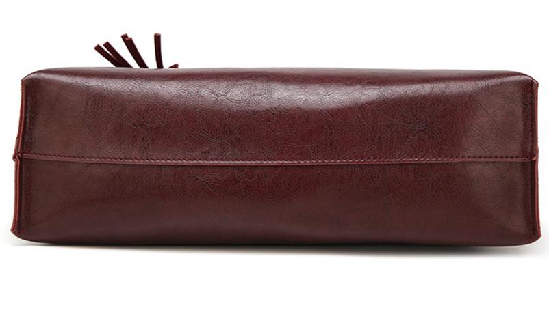 Nevenka Leather Handbag Women Casual Totes Female Shopper Ladies Shopping Bags Large Capacity Bags Vintage Bag for Women 201821
