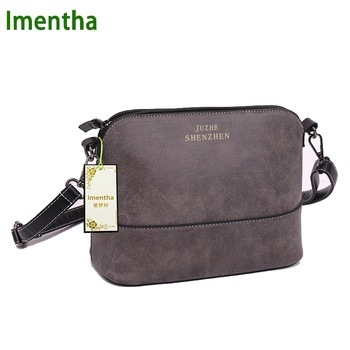 26x11cm Fashion Women Bag gray women Shoulder Bags female bag Vintage suede small women leather handbags women messenger bags