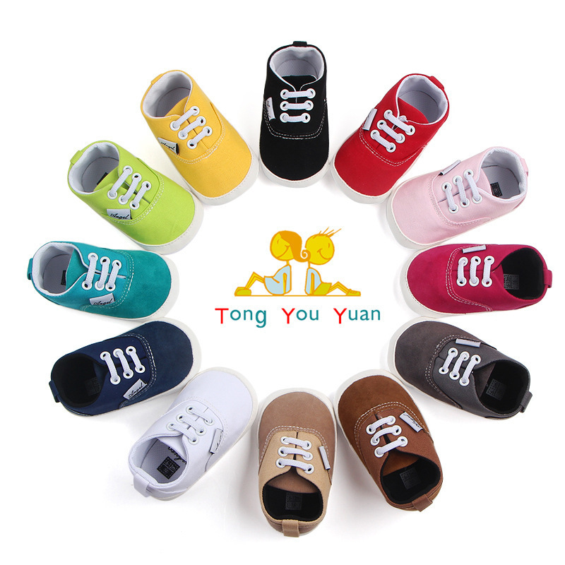 Kids Baby Soft Bottom Walking Shoes Boy Girl Striped Anti-Slip Sneakers with Factory Price Wholesale Order sale Or More