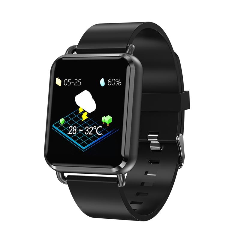 Best Gifts Men Smart Watch, Dynamic Blood Oxygen Pressure Pedometer Fitness Tracker Heart Rate Smartwatch