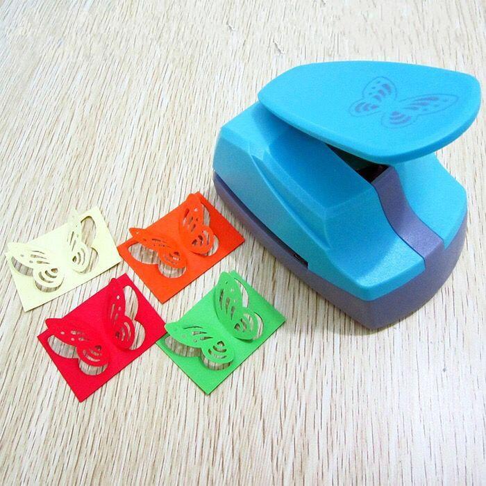 1PC Mini Perforadora Cortador de papel bricolaje tarjetas Scrapbooking mano Shaper Craft PIP