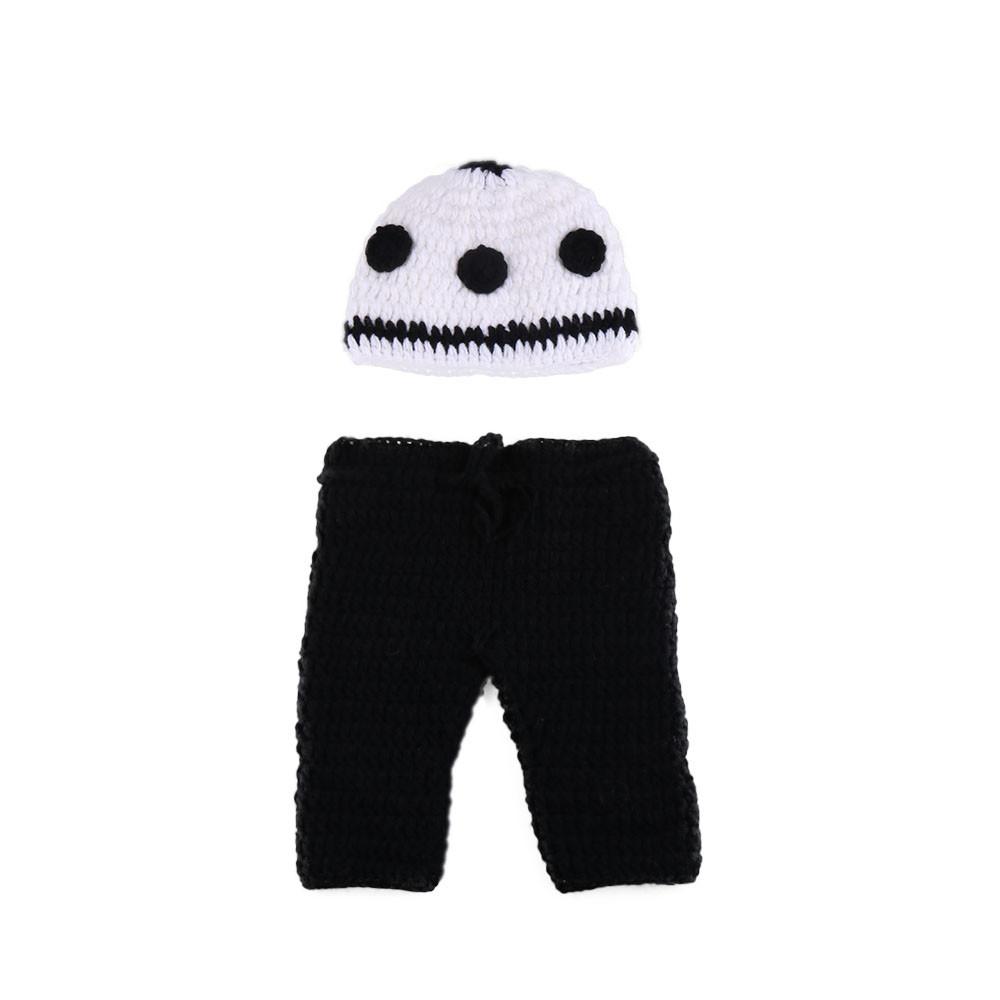 Infant Garçon Tricoté Accessoires de Photographie Crochet Bébé Football Chapeau Short Set Nouveau-Né Photo Costume