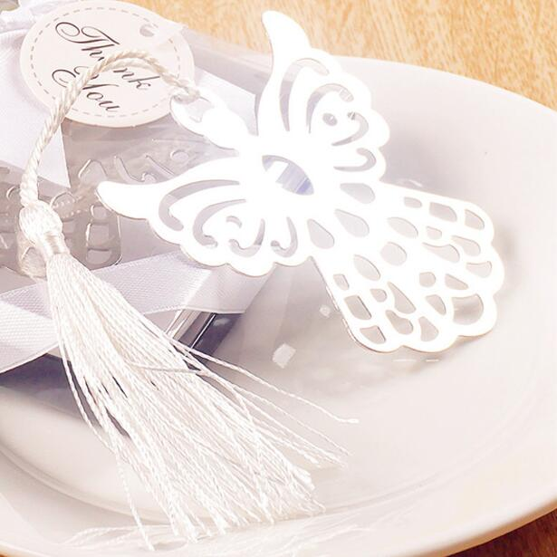 Free-Shipping-40pcs-lot-Metal-Bookmark-Angel-Silver-For-Baptism-Baby-Shower-Souvenirs-Wedding-Favors-and (2)