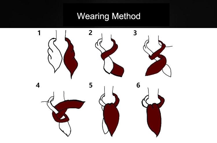 Wearing Method