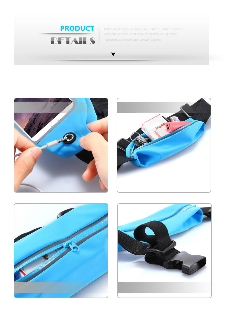 Waist Sports Running Bag Case Cover for Iphone 7 6 S Plus 5S For Samsung Galaxy S5 S6 edge S7 edge (5)