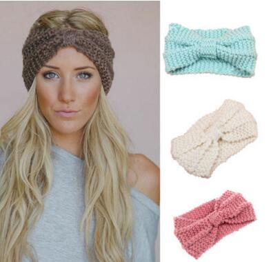 Damen Head Wrap Kopf Haarband Strass Turban Twist Stirnband Haarschmuck Headwear