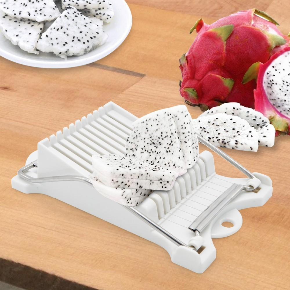 Luncheon Meat Slicer Cheese Boiled Egg Ham Cutter Fruit Slicer BPA Free 180°Rotatio (3)