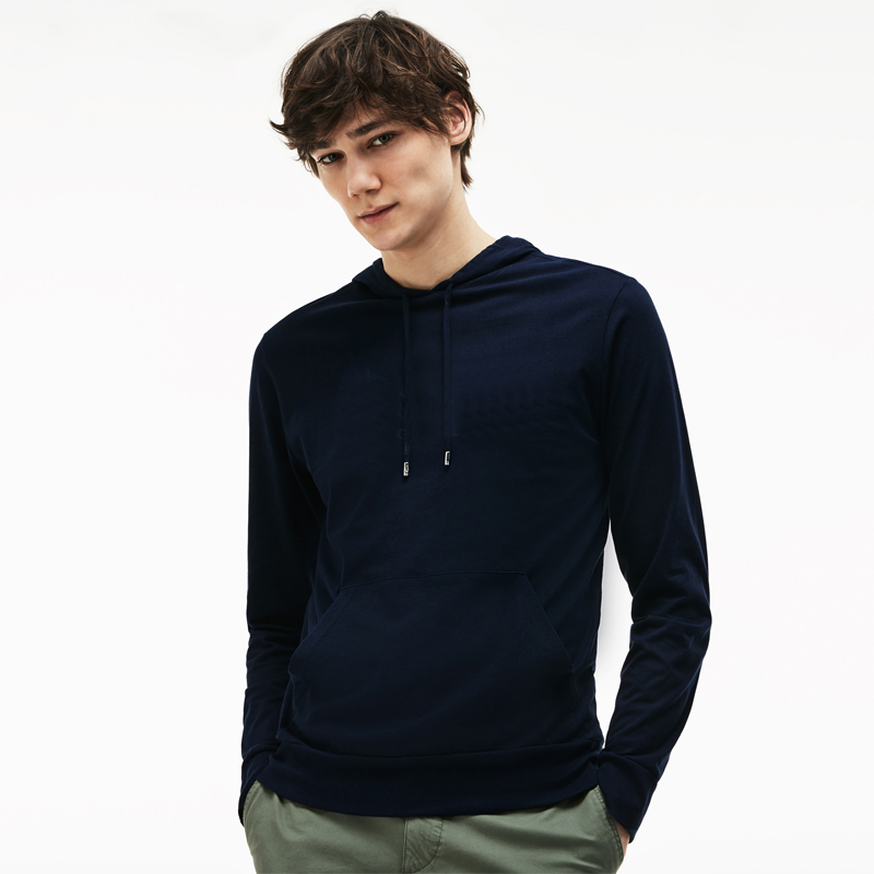 Men Pullover solid color Sweater Fashion Long Sleeve Clothing Hot Sale Designer Hoodies for Men Cotton Blend Casual Sport S-3XL Size