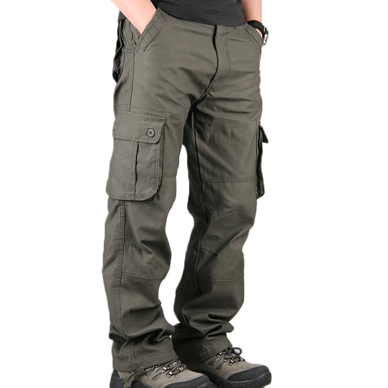 Ropa De Hombre Hombres Pantalones Tacticos Recto Impermeable Bolsillos Macho Militar Ejercito Pantalon Muti Ropa Calzado Y Complementos Lafermedescattle Fr