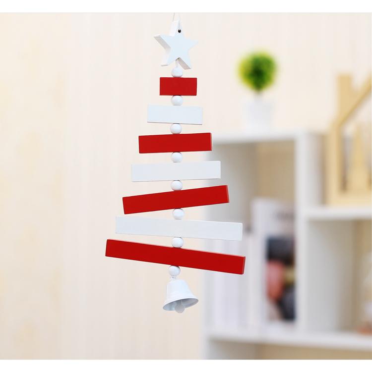 06 inhoo Wooden Merry Christmas Tree Decor Pendants Xmas Tree Ornaments Christmas crafts Decoration Happy New Year Home Decor Gifts