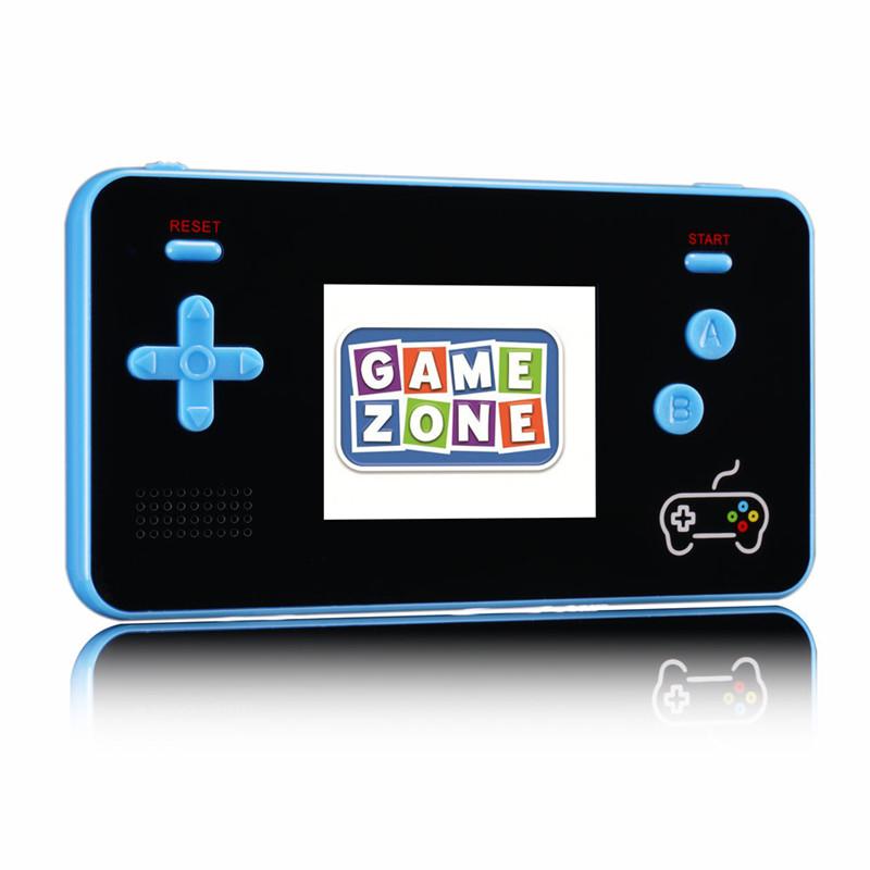 Novo 2 em 1 Retro Mini Console Do Jogo 5000mAh Banco De Potência Móvel 188 Jogos Clássicos Portátil Video Game Player 2.5 polegada LCD Console De Jogos De Bolso