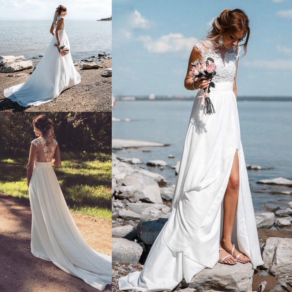 Beach Wedding Outfit Sales On Christmas 2020 Buy Cheap In Bulk From China Suppliers With Coupon Dhgate Com