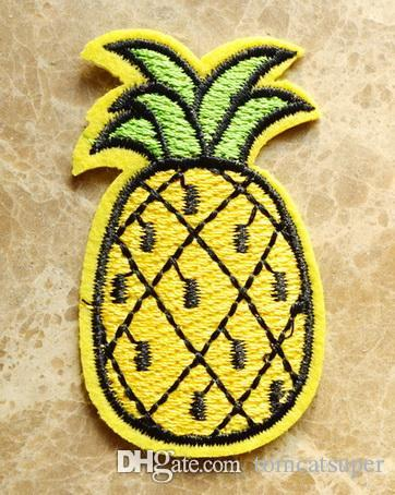 HOT SALE TROPICAL PINEAPPLE Iron On patch Shirt Hat Jean shoes Applique