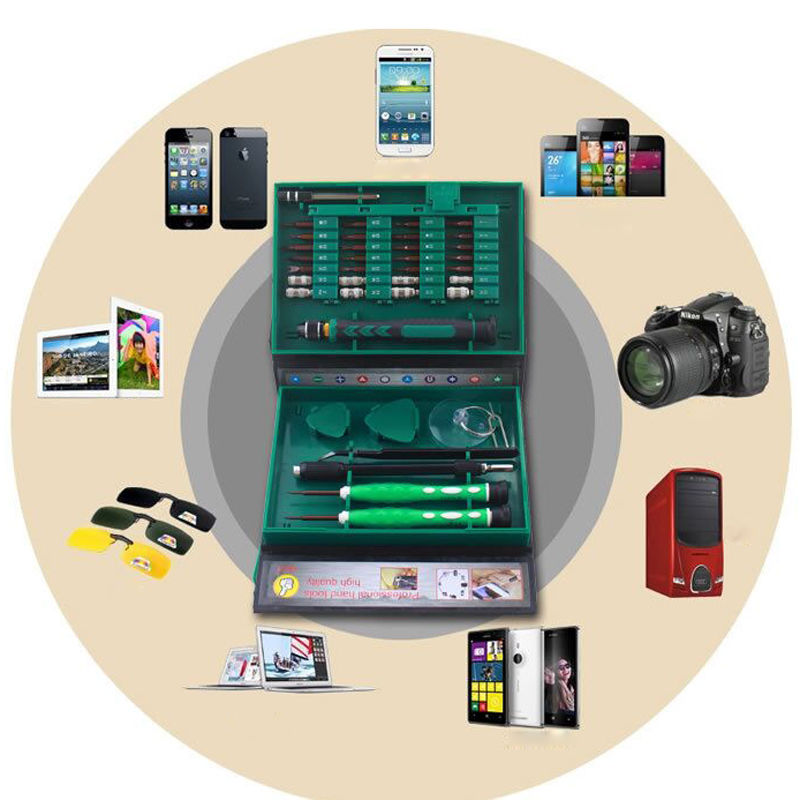 Precision 38in1 Screwdriver Set Repair Kit Tools for Mobile Cell Phone PC car Screwdriver Set
