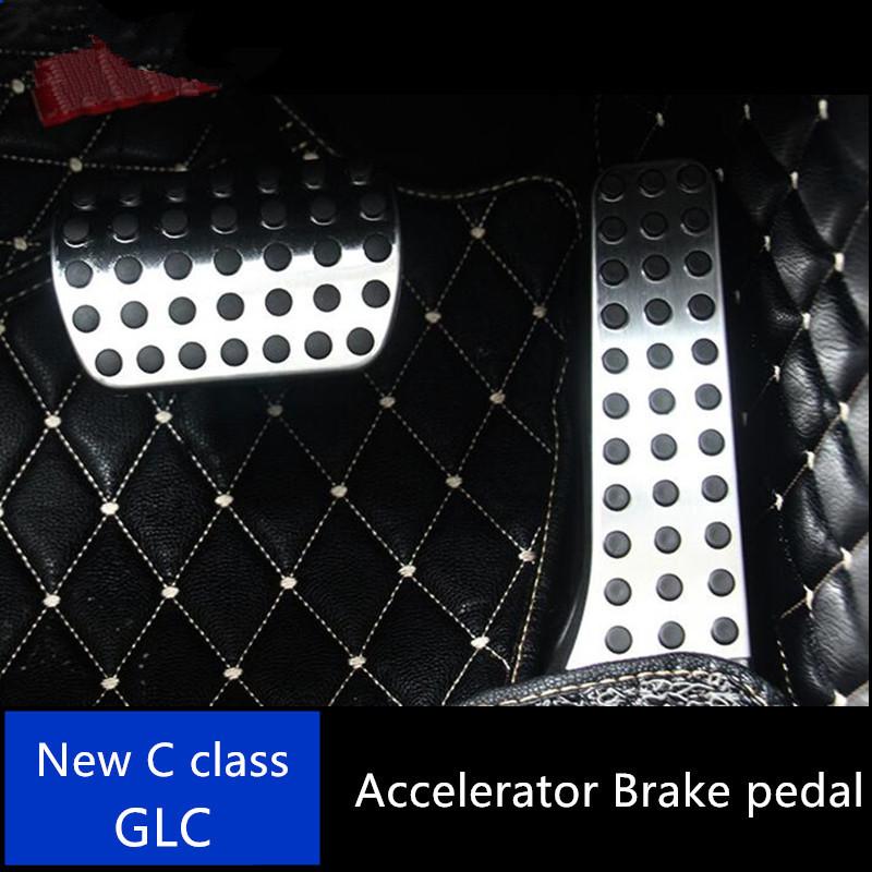 szss-car New Fashion auto Car New in lega di alluminio antiscivolo sport carburante benzina frizione freno Braking Pad pedali resto piastra set
