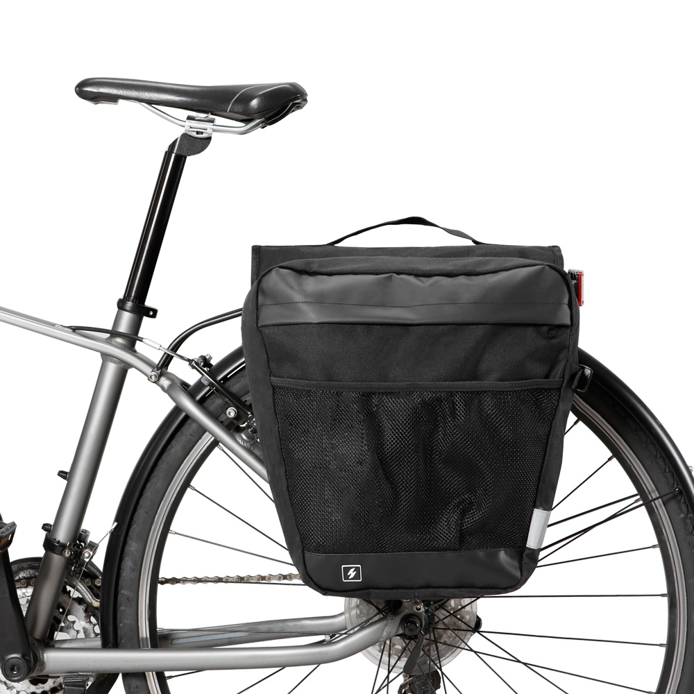 Handlebar Pannier Bag Bar Pouch Outdoor for Cycling Bicycle Front Basket Bike LK