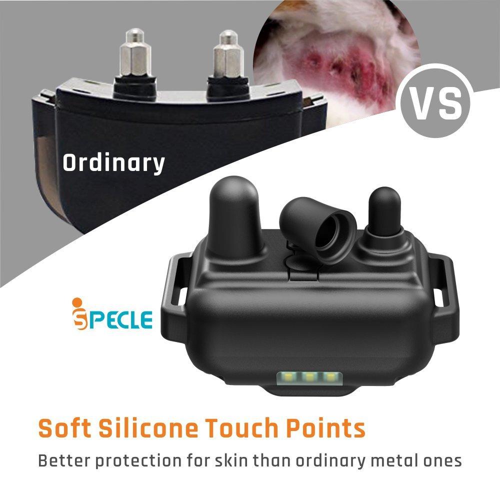 Elétrica Petrainer Dog Training Colar Ferramenta de controle remoto à prova d 'água recarregável para 1/2/3 cão