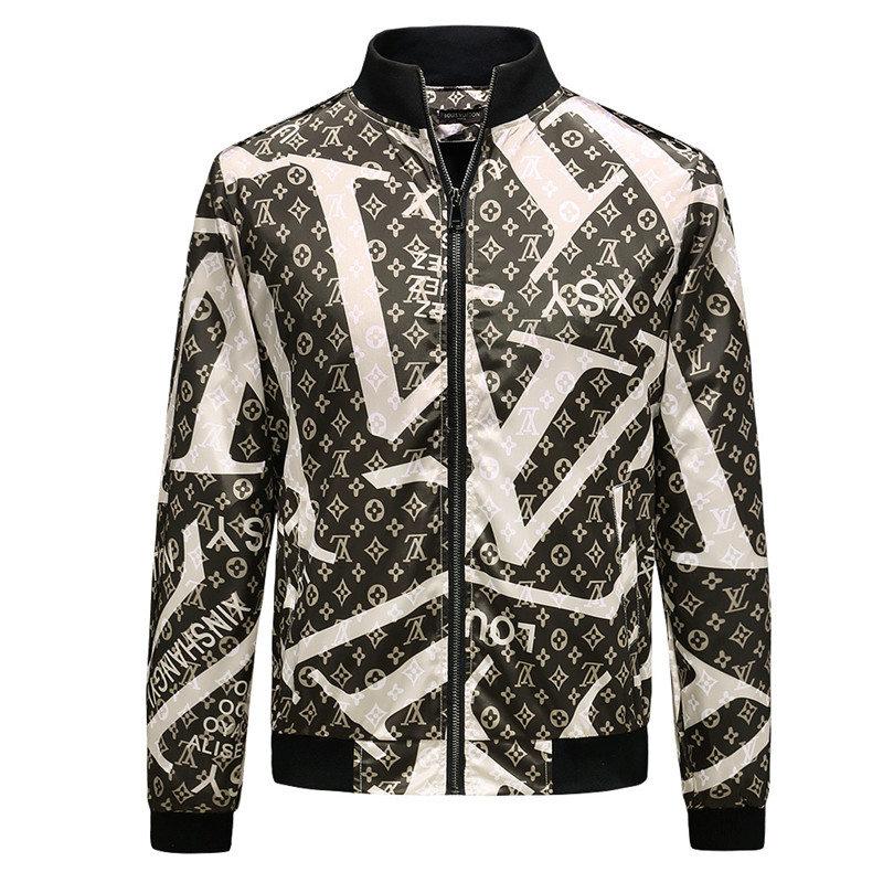 7ecb5cab96e ... Fashion Designer Jacket Luxury Windbreaker Long Sleeve Mens Brand  Jackets Hoodie Zipper Animal Letter Pattern Plus