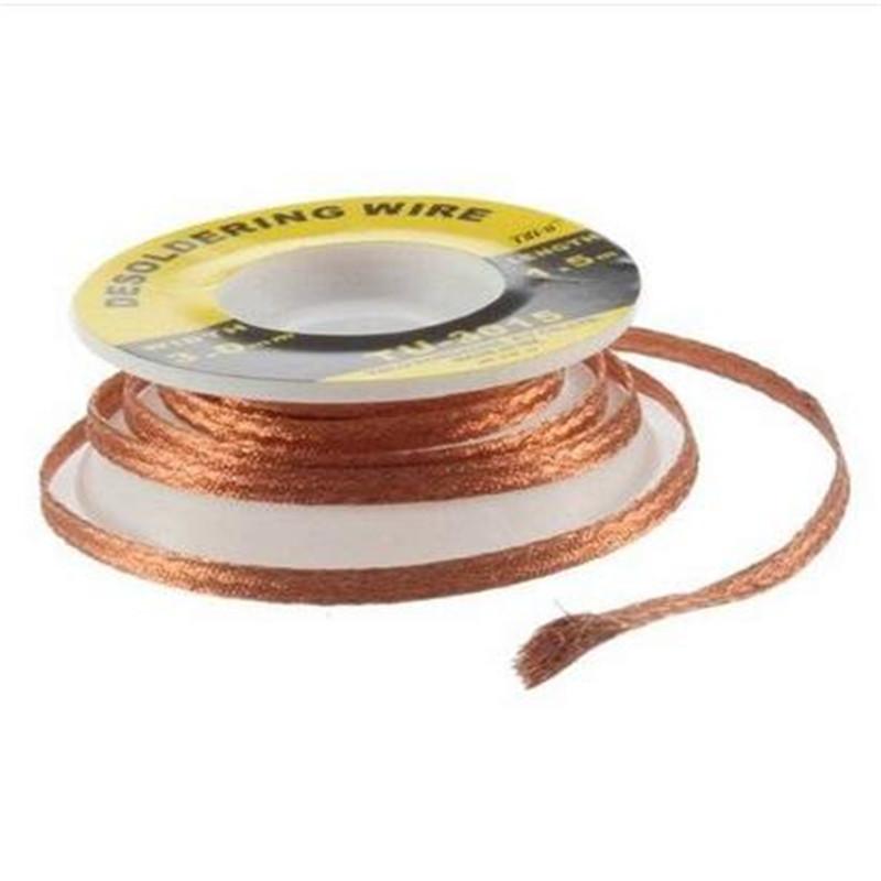 75cm Desoldering Braid Solder Remover Wick Copper Spool Wire Cable