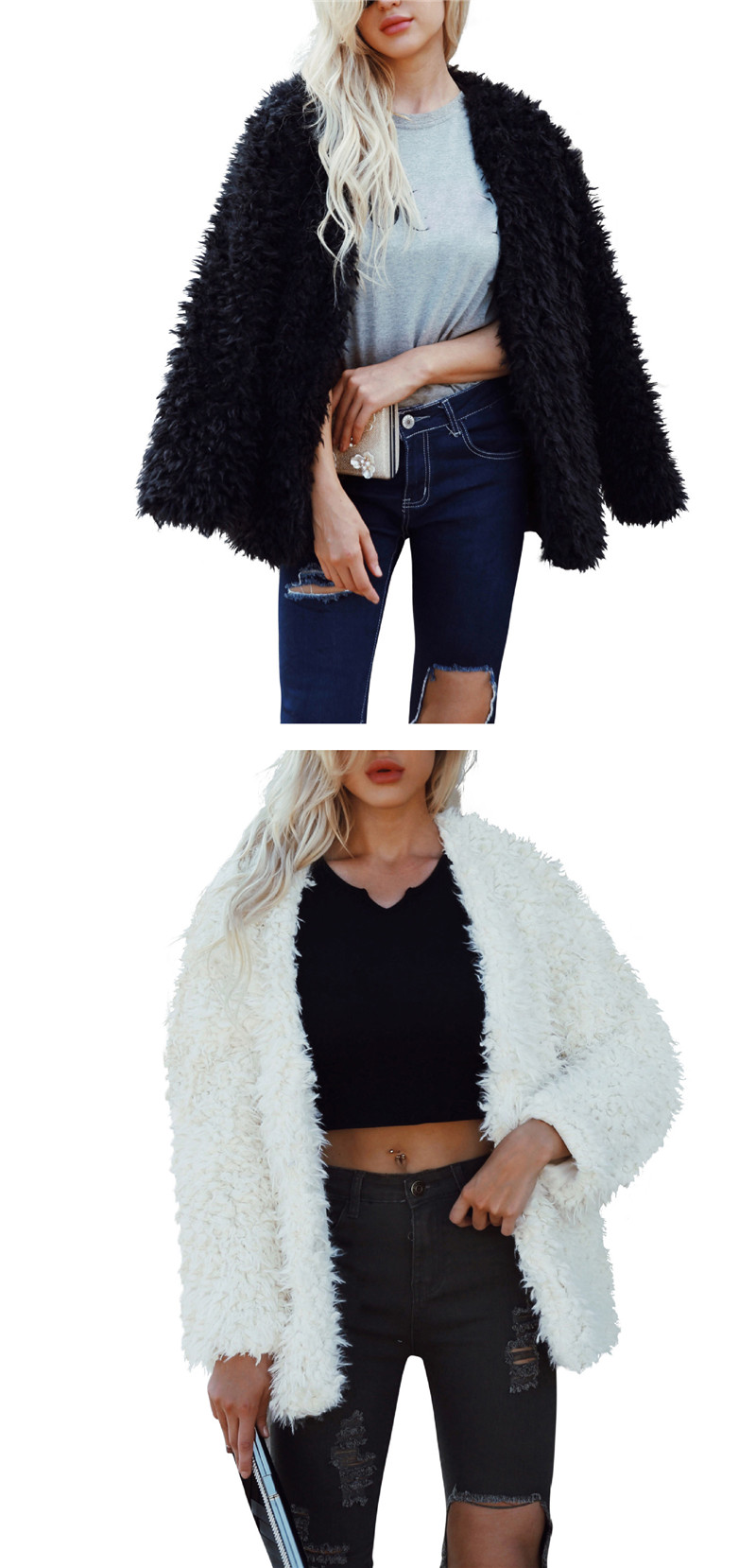 European and American fashion fur coat with warm coat and fur coat (3)