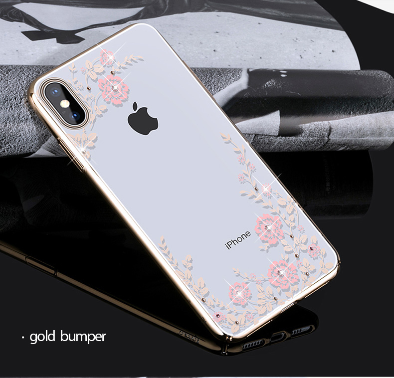 KINGXBAR Case for iPhone Xs Case Gorgeous for iPhone Xs Max Cover Luxury for iPhoneXs Cover Transparent Crystals from Swarovski (15)